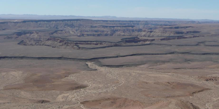 Fish River Canyon i powrot do domu